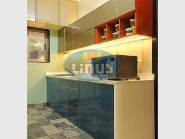 Best Back Painted Glass Kitchen