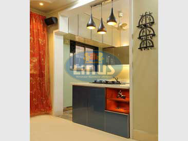 Customized Back Painted Glass Kitchen