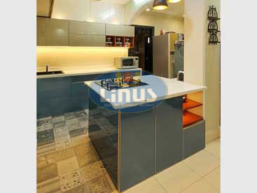 Specialized In Back Painted Glass Kitchen