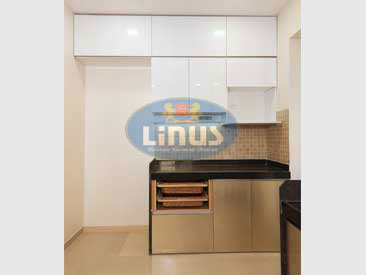 Back Painted Glass Kitchen Thane