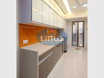 Back Painted Glass Kitchen Manufacturer