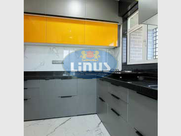 Laminated Glass Kitchen in thane