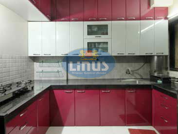 Laminated Glass Kitchen design